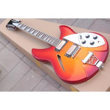 12 Strings Rickenbacker 381 Fireglo Electric Guitar
