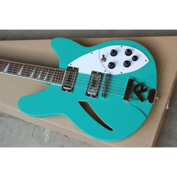 12 Strings Custom 360 2 Pickups Teal Green Electric Guitar