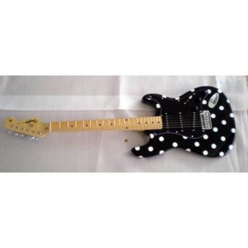 Custom American Buddy Guy Stratocaster Polka Dots Electric Guitar