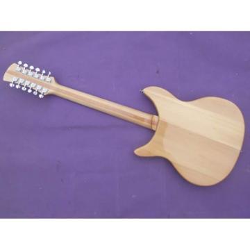 Custom Shop Rickenbacker 330 Natural 12 Strings Guitar