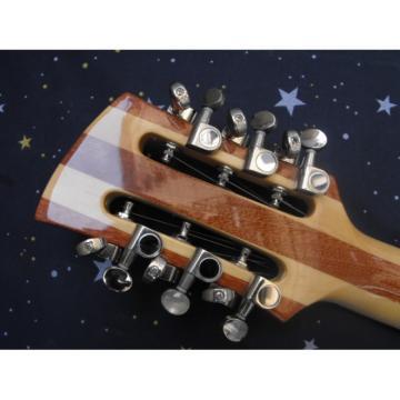 Custom 12 Strings Rickenbacker 381 V69 Natural Guitar
