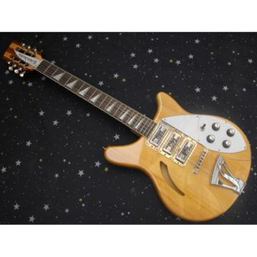 Custom 12 Strings Rickenbacker 381 V69 Natural Guitar