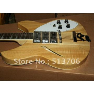 Custom 3 Pickups Rickenbacker 330 Natural Guitar