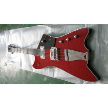 Project Unfinished Gretsch G6199 Billy-Bo Thunderbird Classic Red Guitar No Hardware