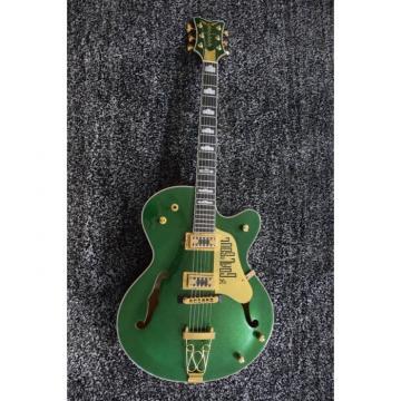 Custom Shop The Goal Is Soul Gretsch Metallic Green Jazz Guitar