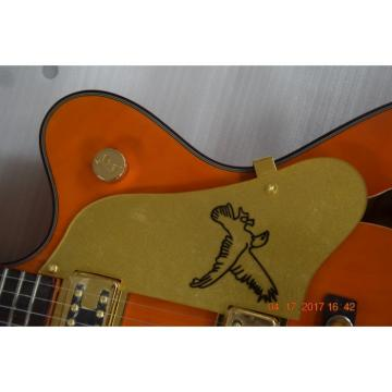 Custom Shop Orange Falcon Gretsch 6 String Electric Guitar
