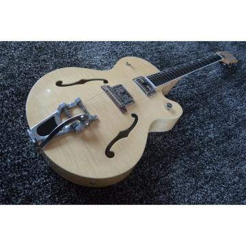 Custom Shop Natural Tiger Maple Top Gretsch Guitar
