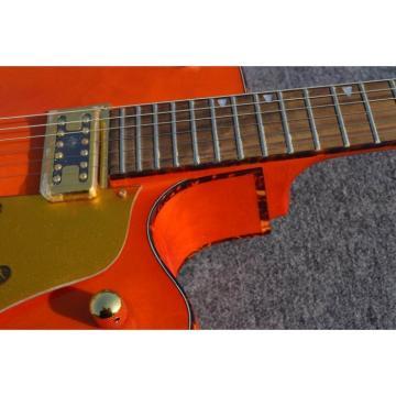 Custom Shop Nashville Orange Gretsch Jazz Guitar