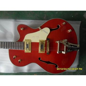 Custom Shop Gretsch Orange Nashville Electric Guitar