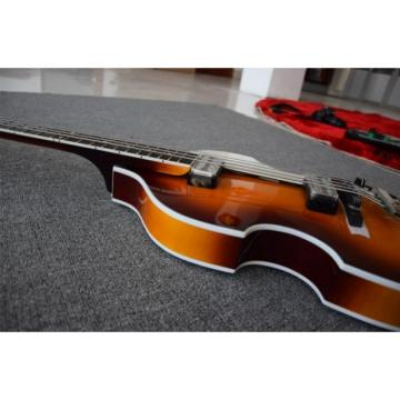 Custom Built Hofner HCT 500 Violin Bass Guitar German Electronics