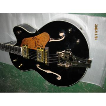 Custom Shop Gretsch Falcon Black Electric Guitar