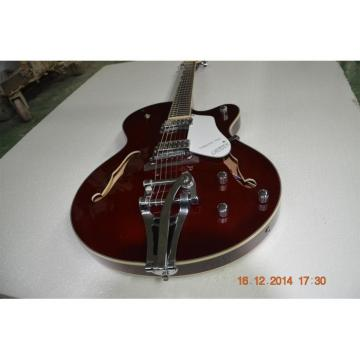 Custom Shop Gretsch Falcon 6120 Burgundy Jazz Guitar