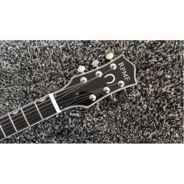Custom Gretsch G6199 Billy-Bo Jupiter Thunderbird Metallic Silver Checkerboard Binding Guitar