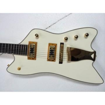 Custom Gretsch G6199 Billy-Bo Jupiter Thunderbird Aged Cream White Authorized Bridge Guitar