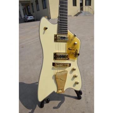 Custom Gretsch G6199 Billy-Bo Jupiter Thunderbird Aged Cream Authorized Bridge Guitar