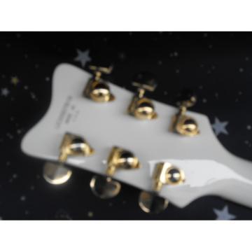 Custom Gretsch Falcon Nashville White Guitar
