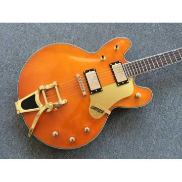 Custom Build Gretsch G6136TBK Orange Falcon Bigsby Guitar