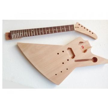 Custom Shop Unfinished guitarra Explorer Guitar Kit