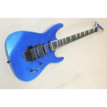 Custom Shop Jackson Soloist Metallic Blue Guitar