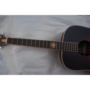 Custom Shop Jack Daniels Dark Acoustic Guitar with Fishman EQ