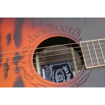 Custom Shop Jack Daniels Dark Acoustic Guitar