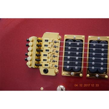 Custom Shop EVH Kramer Metallic Burgundy Electric Guitar