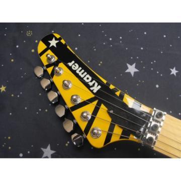 Custom Shop EVH 5150 Yellow Electric Guitar