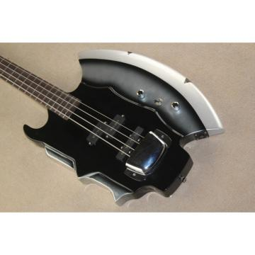 Custom Cort Axe Black Gene Simmons 4 String Bass