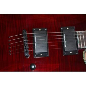Custom Shop LTD EC 1000 Wine Red Electric Guitar