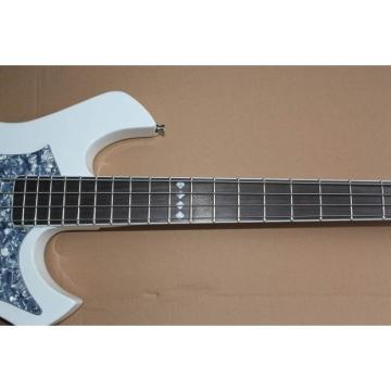ESP White Custom Electric Bass