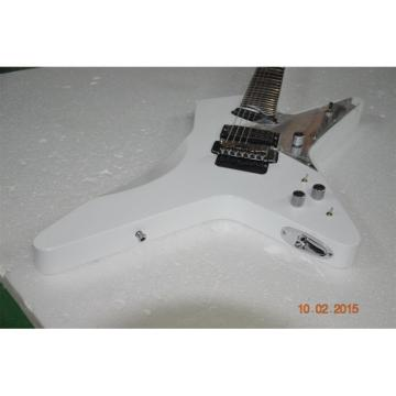 Custom Shop White Crying Star ESP 7 String Electric Guitar