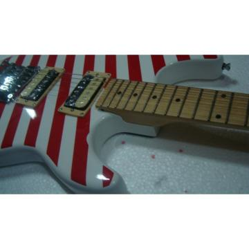 Custom Shop Charvel Stripe Red Electric Guitar