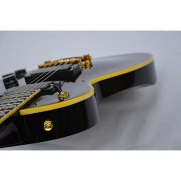Custom Shop ESP Eclipse Black Electric guitar