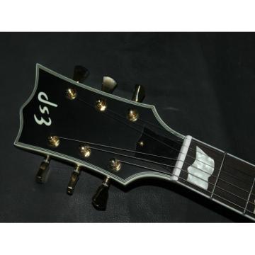 Custom Shop ESP Matt Black Electric Guitar
