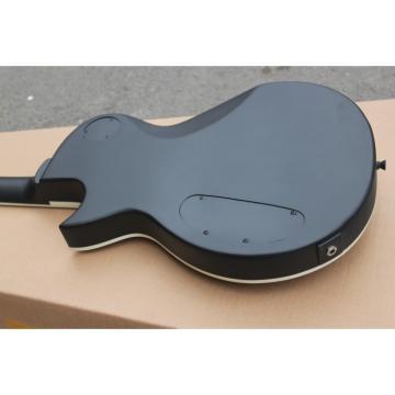 Custom Shop Eclipse ESP Matte Black Electric Guitar