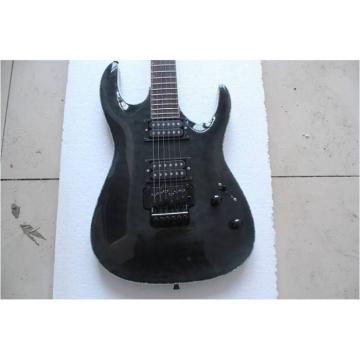 Custom Shop  ESP Black With Floyd Rose Tremolo Guitar