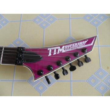 Custom Deville Purple TTM Super Shop Guitar