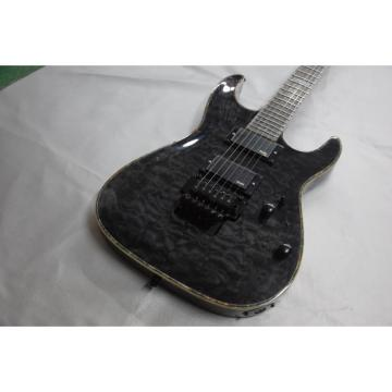 Custom  Shop LTD Space Gray Quilted Maple Top ESP Electric Guitar