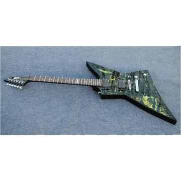 Custom  LTD Explorer Time Machine Design Electric Guitar