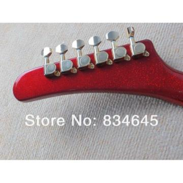 Custom  ESP Explorer MX 250 II Active Pickups EMG Metal Red Electric Guitar