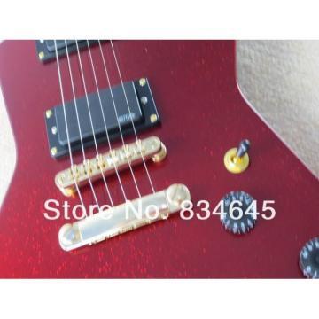 Custom  ESP Explorer MX 250 II Active Pickups EMG Metal Red Electric Guitar
