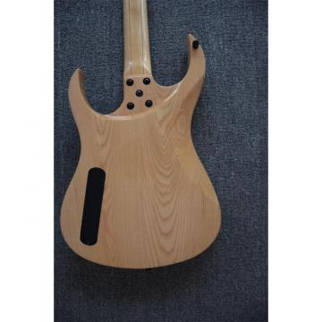 Custom Shop Black Machine 6 String Gray Tiger Maple Top Electric Guitar