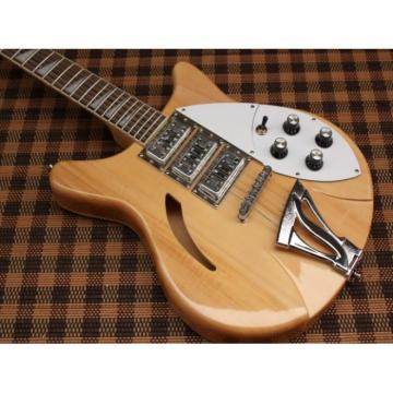 Custom Shop Rickenbacker Natural 12 Strings Guitar