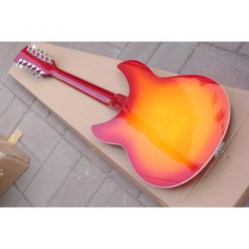 Custom Shop Rickenbacker Cherry 12 Strings Guitar