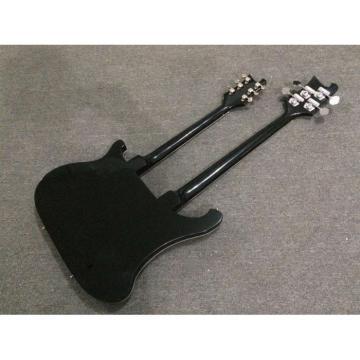 Custom Shop 4080 Double Neck Geddy Lee 4 String Bass 6/12 String Option Guitar