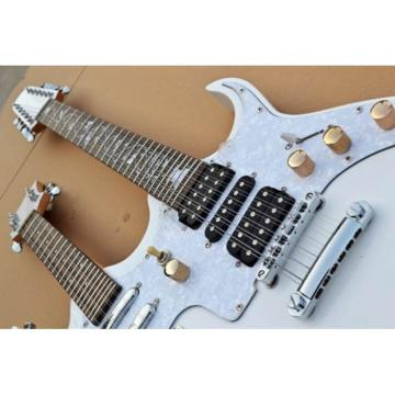 Custom Double Neck JEM7V 12 Strings and 8 Strings Guitar