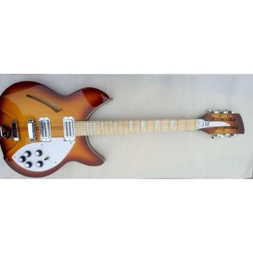 Custom 12 Strings Rickenbacker 360  Heritage Vintage Guitar Maple Fretboard