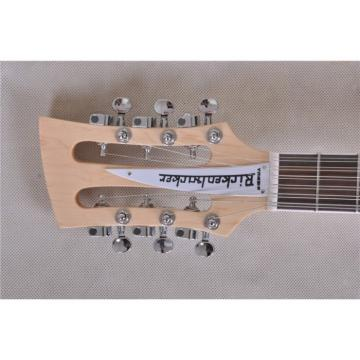 Custom 4003 Double Neck Naturalglo 4 String Bass 12 String Electric Guitar