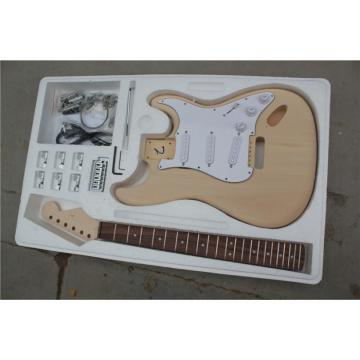 Custom Shop Unfinished Stratocaster Guitar Kit