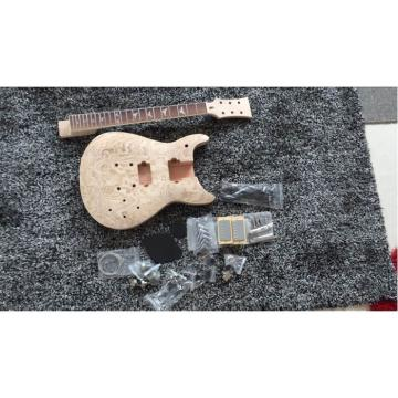 Custom Shop Unfinished PRS Guitar Kit Wilkinson Parts